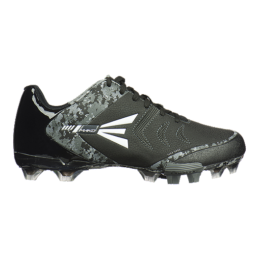 5d1718bd5c39 Easton Men s Mako 2.0 TPU Low Baseball Cleats - Grey Camo Black ...