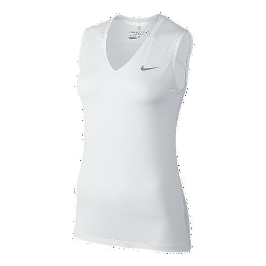 766133d020a01 Nike Golf Greens Women s Sleeveless Polo