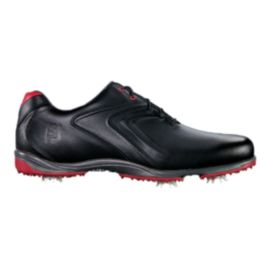 FootJoy Men's Hydrolite Golf Shoes - Black/Red