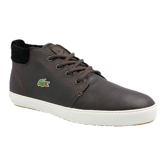 06afee21a7c9 Lacoste Men s Ampthill Terra Premium Shoes - Black