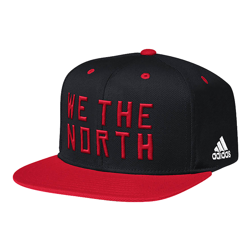 b019578c87 Toronto Raptors We The North Two Tone Snapback Cap