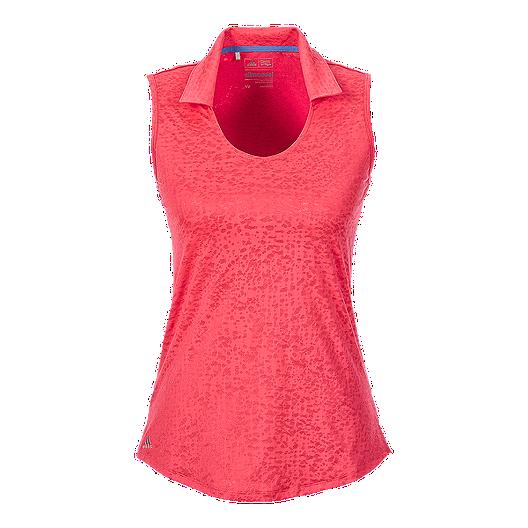 5b688c702f1d6d adidas Golf climacool® Textured Women s Sleeveless Polo
