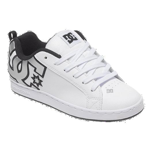 ba8c562c420 DC Women s Court Graffik Skate Shoes - Black White