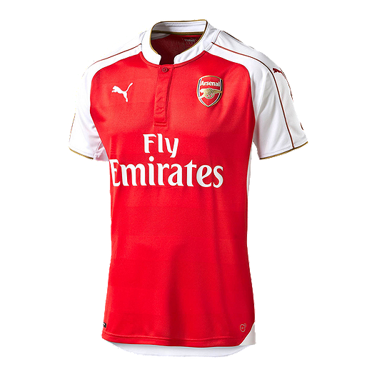 ee77e77ea5cc5 Arsenal Home Soccer Jersey - Red