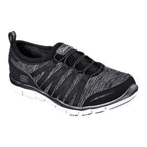 7b804bb20e6a Skechers Women s Gratis Shake It Off Casual Shoes - Black
