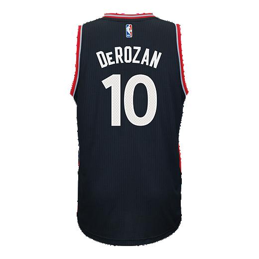 5a9519a66 Toronto Raptors DeMar DeRozan Swingman Pride 2 Basketball Jersey -  Black Red - 2015