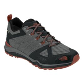 The North Face Men's Ultra Fastpack II GTX Hiking Shoes - Grey/Spice