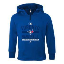 Toronto Blue Jays On Field Team Property Fleece Youth Top