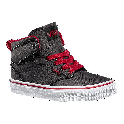 fd66cd391e Vans Kids  Atwood Hi Skate Shoes - Black White. (0). View Description