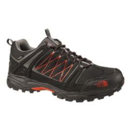 The North Face Men's Alteo Low Waterproof Hiking Boots - Black/Orange