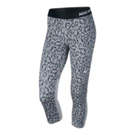 Nike Pro Cool Facet All-Over Print Women's Capri Tights