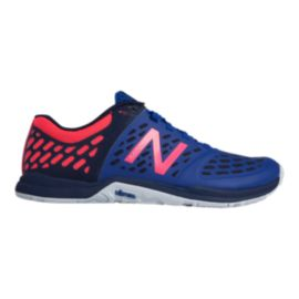 New Balance Women's 20v4 B Training Shoes - Blue/Pink