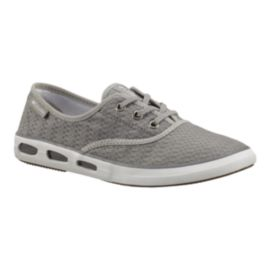 Columbia Women's Vulc N Vent Canvas II Casual Shoes - Light Grey