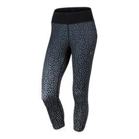 6e4d112171fad Nike Run Epic Dri-FIT Multipop All Over Print Women's Crop Tights