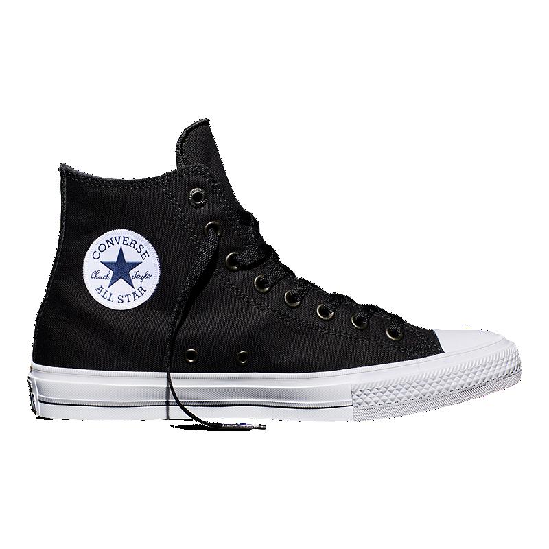 5d674b4f36c0 Converse Chuck Taylor II High Ox Shoes - Black White