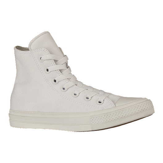 c1fcb5631aad Converse Men s Chuck Taylor II High Ox Shoes - White