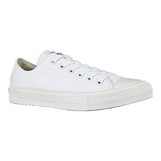 4afe940db8e1 Converse Men s Chuck Taylor II Ox Shoes - White