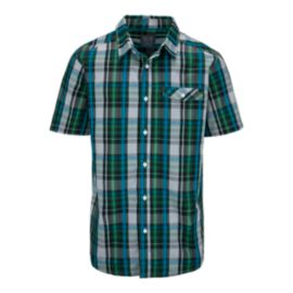 Mountain Hardwear Farthing Men's Short Sleeve Plaid Shirt