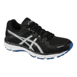 ASICS Men's Gel Excite 3 Running Shoes - Black/White/Blue