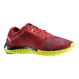Reebok Women's ZQuick City Running Shoes - Red/Yellow