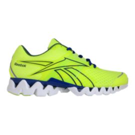 Reebok Men's ZQuick ZigTech Running Shoes - Electric Green/Blue