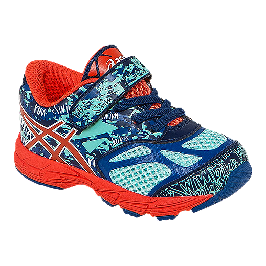 check-out 58831 c4090 ASICS Toddler Gel Noosa Tri 10 Running Shoes - Blue/Red/Navy ...