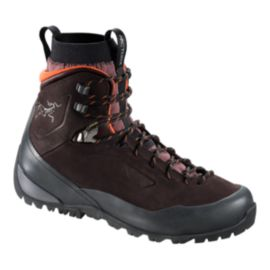 Arc'teryx Women's Bora Mid Leather Hiking Shoes - Brown - Prior Season