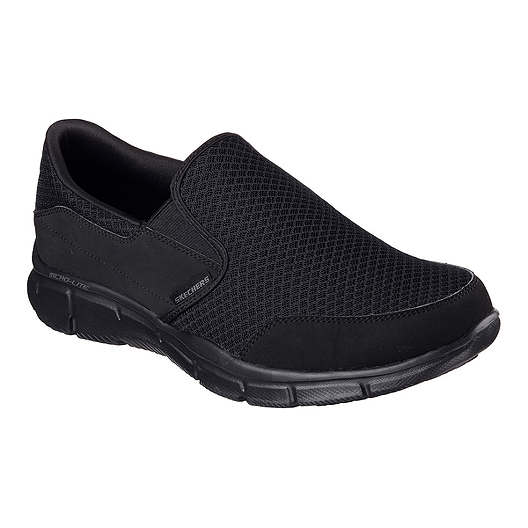 timeless design d6ad8 46e8e Skechers Men s Equalizer Persistent Slip-On Casual Shoes - Black   Sport  Chek