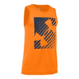 Under Armour Kids' Inclined Wordmark Tank