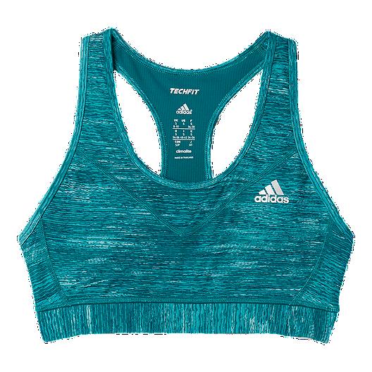 a86f6366 adidas techfit® Women's Padded Heathered Bra | Sport Chek