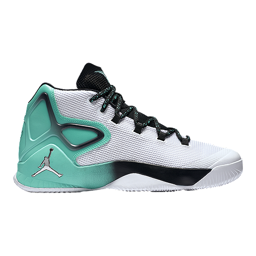 5ee17ee81598b2 Nike Men s Jordan Melo M12 Basketball Shoes - White Black Teal ...