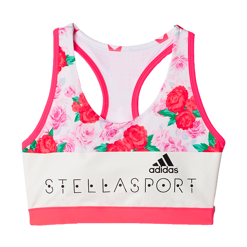 92d676221bf7d adidas Stellasport Floral All-Over Print Women s Padded Bra