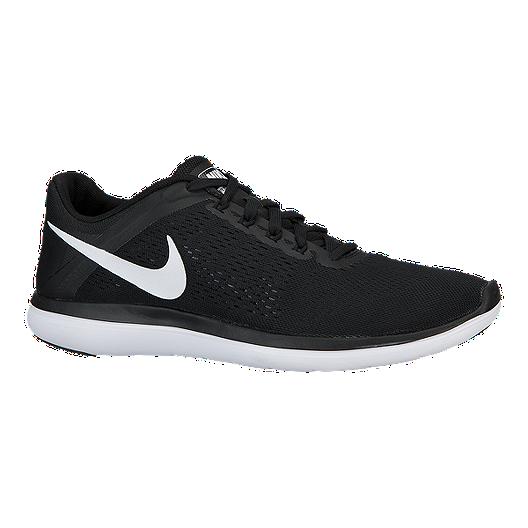 e6cb4a8545778 Nike Men s Flex 2016 Running Shoes - Black White