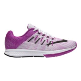 Nike Women's Air Zoom Elite 8 Running Shoes - White/Purple/Black