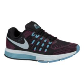 Nike Women's Air Zoom Vomero 11 Running Shoes - Black/Pink/Blue