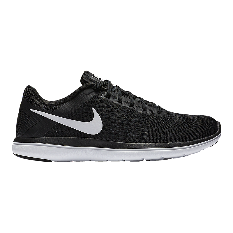 2509e9042a8e1 Nike Women s Flex RN 2016 Running Shoes - Black White
