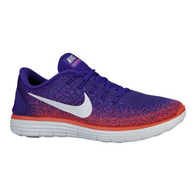 Nike Men's Free RN Distance Running Shoes  Blue/Red