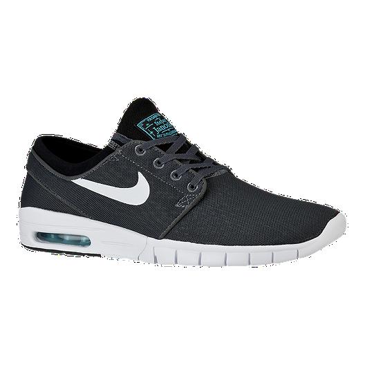 sneakers for cheap eebf6 32083 Nike Janoski Max Men s Skate Shoes - Dark Grey White   Sport Chek