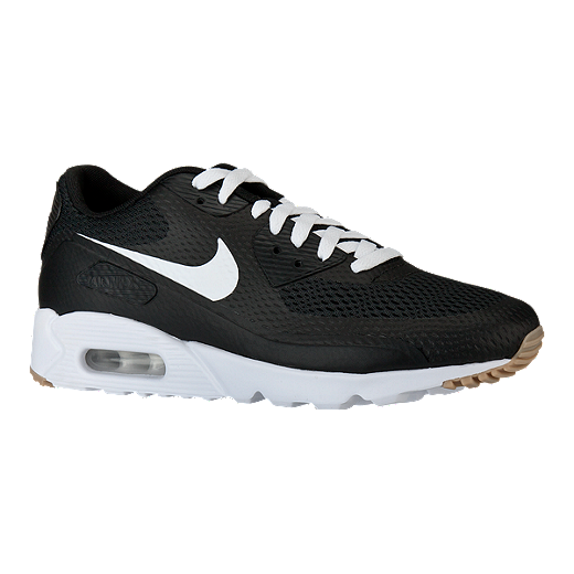 4e7950fe80 Nike Men's Air Max 90 Ultra Essential Shoes - Black/White | Sport Chek