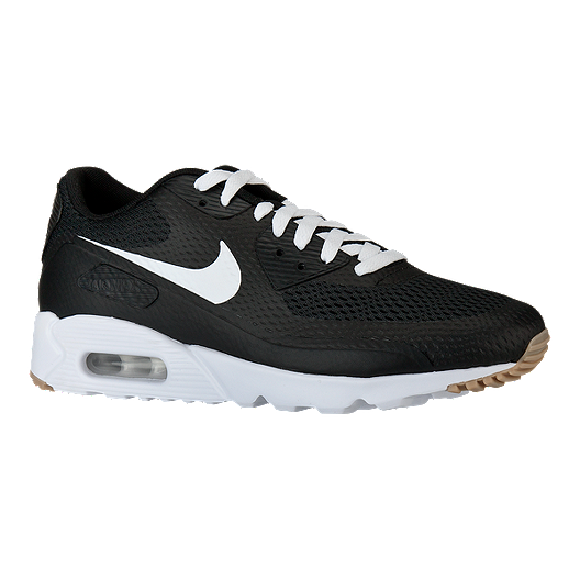 finest selection 04ace 36e03 Nike Men s Air Max 90 Ultra Essential Shoes - Black White   Sport Chek
