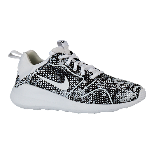 115cc4ec896f2 Nike Women s Kaishi 2.0 Print Shoes - Black White