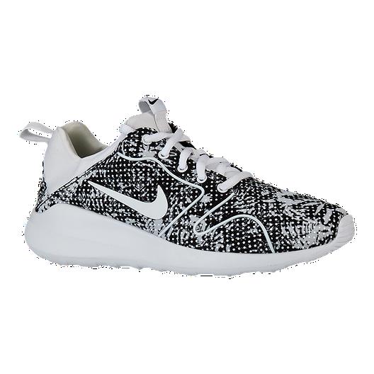 94367f66b6d Nike Women s Kaishi 2.0 Print Shoes - Black White