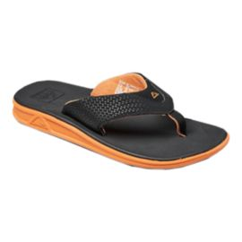 Reef Men's Rover Sandals - Black/Orange