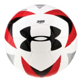 Under Armour 395 Desafio Size 5 Soccer Ball - White/Risk Red