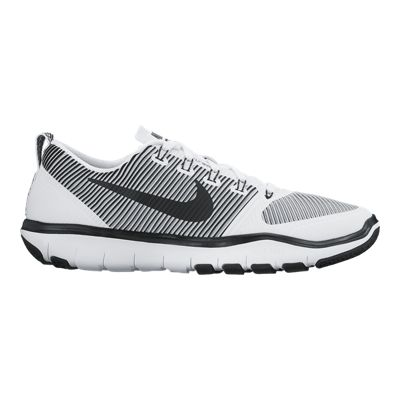 Nike Men's Free Train Versatility Training Shoes - White/Black