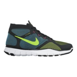 Nike Men's Free Train Instinct Training Shoes - Black/Green/Teal