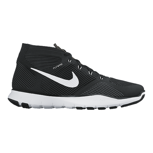 Nike Free Train Instinct Mens Shoes WhiteBlack