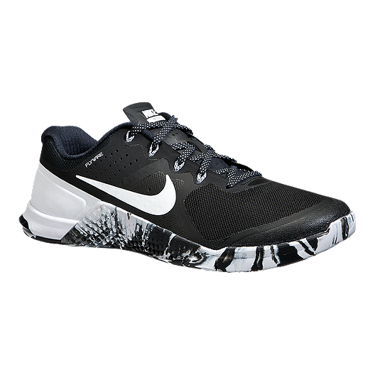 dce5f5235e4d Nike Men s Metcon 2 Training Shoes - Black White