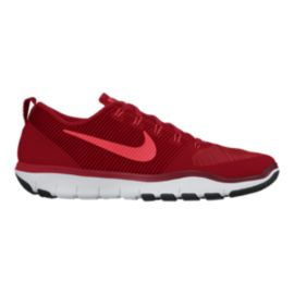 Nike Men's Free Train Versatility Training Shoes - Red/White