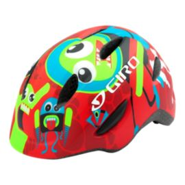 Giro Scamp Red Rockets Kids' Bike Helmet